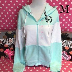 NWT VS PINK perfect full zip hoodie